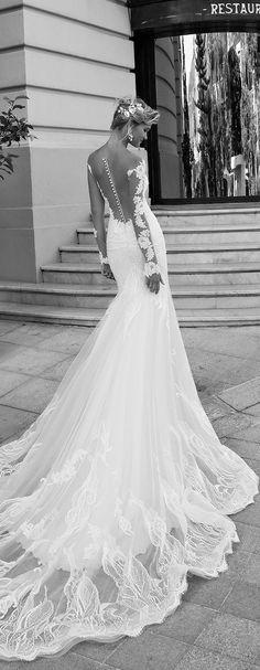 Featured Wedding Dress: Alessandra Rinaudo; Wedding dress idea.