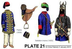 Ottoman Turkish Uniforms Insignia Uniform Crimea Crimean-Ottoman Generals