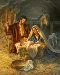 Corbert Gauthier — The Birth of Jesus, 2008 (559x700)