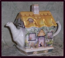 Teapots....like my Rose Cottage Teapot