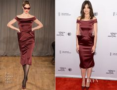 Katie Holmes In Zac Posen – 'Miss Meadows' Tribeca Film Festival Premiere