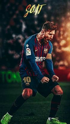 Lionel Messi The Goat Football Player Messi, Club Football, Messi Soccer, Football Soccer, Soccer Sports, Cristiano Vs Messi, Lional Messi, Messi Vs Ronaldo, Messi Pictures