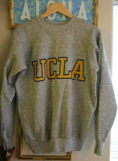 Vintage 70's UCLA Sweatshirt Vintage Size XL by DMVintageShowroom, $40.00