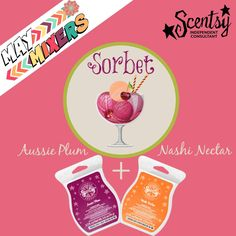 Who's ready for another #MayMixer?? This one features #sorbet #scentsy https://hollysnow.scentsy.us