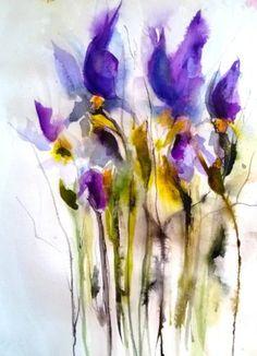 Fallen Irises