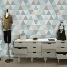 Egyedi modern geometrikus falfestmény a falon nappali lakberendezés ingyenes szállítás (Kína (szárazföld))