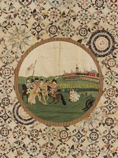 V&A Museum: Quilts 1700-2010 via thelooksee