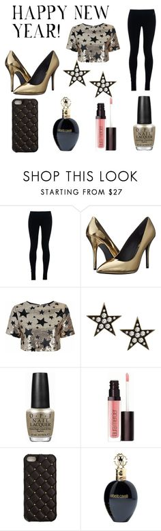 """""""Happy New Year"""" by thompame on Polyvore featuring NIKE, Pierre Balmain, Glamorous, London Road, OPI, Laura Mercier, 2Me Style and Roberto Cavalli"""