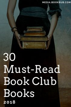 Check out these great book club book ideas for women, including great ideas for 2018.