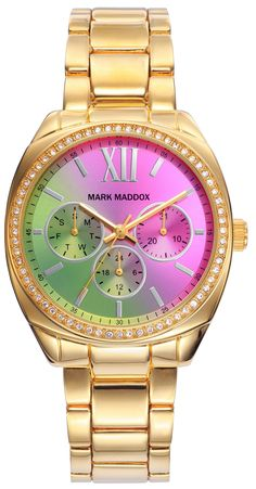 MARK MADDOX mod. STREET STYLE MM6012-93 . MULTIFUNCION - 38 mm - WR 3 ATM  Serial 252629 Gents 7a0b8a50255e
