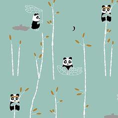 Panda behang via Esthex   Vind de dealers via Kinderkamerstylist.nl