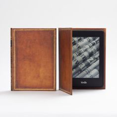 KleverCase Amazon Kindle Voyage Case Book Cover Style - My Book