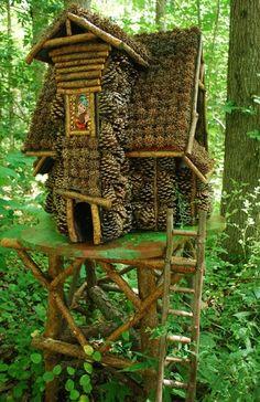 gevonden op: Annmariegarden.org Fairy's live here