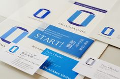 岡山大學 Okayama University Communication Symbol & Visual Identity