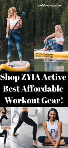 ZYIA Active Has Activewear for Women at Amazing Prices! I recently discovered ZYIA through my friend Kelly Heiser who is a fitness instructor and a ZYIA Active representative.  Read more about ZYIA Activewear products! Great quality and great prices! #ad #activewear #athleticwear #fitness #fitness #fitnessbras #fitnessleggings #getfit #leggings #workoutclothes #workoutleggings #getfit