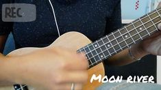 Moon River - Audrey Hepburn (Ukulele Cover - Youtube) Moon River, Audrey Hepburn, Ukulele, Cover, Youtube, Blankets, Youtube Movies