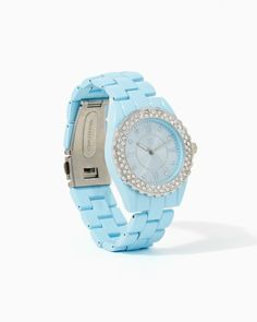 Fresh Paint Watch #charmingcharlie #COTM Blue.  Love this color let's think spring and summer.