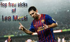Leo Messi the execution of free-kick HD 2016
