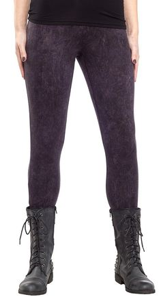 Perfect to be paired with your favorite rocker tee and fav sneakers or boots. SNOW WASHED LEGGINGS BY SOURPUSS