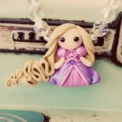 "Image of Rapunzel ""Tangled"" Necklace  (by Creme de la Gems)"
