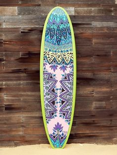 Custom Painted Stand Up Paddle Board by Free People on HeartThis