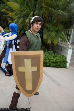 Link cosplay, pic by David Ngo (DTJAAAAM)  > Anime Conji 2013.