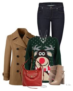 Christmas time is near!! by ksims-1 on Polyvore featuring polyvore fashion style Boohoo Lands' End Citizens of Humanity Burberry Joe's Jeans Charter Club clothing