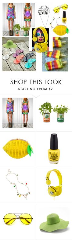 """All she needs is Ice-cream"" by annabelle-h-ringen-nymo ❤ liked on Polyvore featuring Betsey Johnson, Retrò, Peter Grimm, Summer, dress and annabellerockz"
