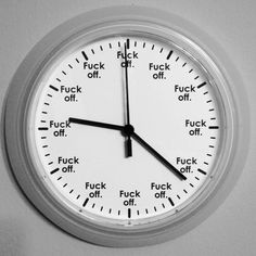 This clock that FINALLY shows the correct time. 23 Products That'll Make Your Home Obscene AF Correct Time, Time Clock, Take My Money, You Funny, Own Home, Funny Photos, Decorating Your Home, Diys, Make It Yourself