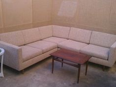 Custom pieces sectional table.
