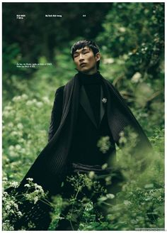 ELLE Man Vietnam apuesta por el top model asiático Sang Woo Kim para la portada y editorial de su edición de Spring-Summer 2016 capturado por el fotógrafo Oliver Yoan
