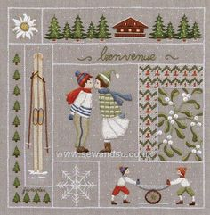 Shop online for January Embroidery Kit at sewandso.co.uk. Browse our great range of cross stitch and needlecraft products, in stock, with great prices and fast delivery.