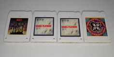lot of Kiss 8 track tapes Double Platinum I II Rock and Roll Over Destroyer 8 Track Tapes, Double Platinum, Rock And Roll, Kiss, Gallery Wall, Rock Roll, Rock N Roll, Kisses, A Kiss