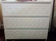 Lightweight fretwork panels s you can attach to furniture. Come in sizes compatible with Ikea furniture.