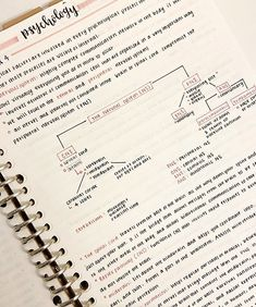 Psychology Notes, Psychology Studies, School Organization Notes, Study Organization, Life Hacks For School, School Study Tips, College Notes, School Notes, Schrift Design