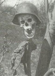 Russian warning to German soldiers, World War II.