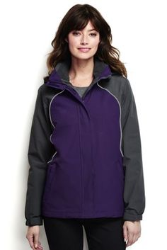 Women's 3 in 1 Squall Jacket from Lands' End