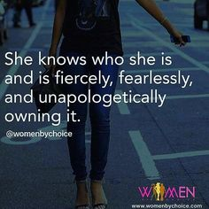 Be fierce, fearless and unapologetically you. Be fearless, miss. www.fearlessmiss.com