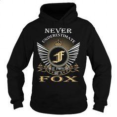FOX - #boys hoodies #custom t shirt design. ORDER NOW => https://www.sunfrog.com/Names/FOX-100201158-Black-Hoodie.html?60505