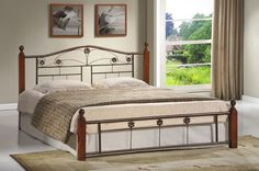 Reese Metal Panel Bed