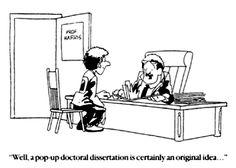 dissertation advisors
