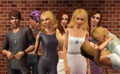 Natthan, Juliet, Stella, Dana, Victoria, Amanda, Ewa i Franck