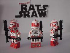 Lego Star Wars Minifigures Clone Custom Shock Trooper | eBay