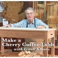 Make a Cherry Coffee Table with Master Frank Klausz | ShopWoodworking
