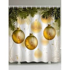 2020 Christmas Shower Curtain Best Online For Sale Christmas Rugs, Classy Christmas, Cheap Christmas, Christmas Balls, Christmas Decorations, Christmas Windows, Christmas Ornaments, Holiday Decor, Christmas Shower Curtains