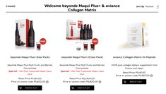 Welcome beyonde Maqui Plus+ & aviance Collagen Matrix Welcome, Collagen, Berries, Free, Pure Products, Shop, Store, Blackberry
