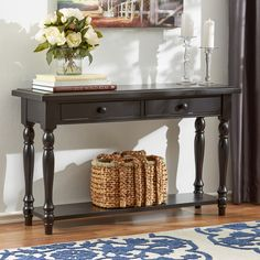 Three Posts Baddow Console Table Reviews Wayfair