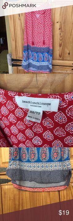 Cute, fun light weight Beach Lunch Lounge dress Fun little sun dress in excellent condition, worn only once... beach lunch lounge Dresses