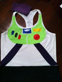 Buzz Lightyear inspired Running Costume via Etsy.