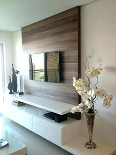 Tv wall ideas ikea living room decorating ideas design with corner tv wall decor ikea Ikea Living Room, Living Room Modern, Living Rooms, Tv Rooms, Small Living, Tv Wall Decor, Room Decor, Wall Tv, Wall Wood